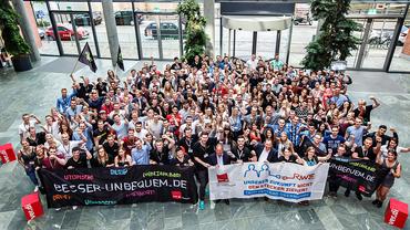 RWE Jugend mit voller Solidarität auf der 4. bundesweiten JAV Konferenz 2016 in Berlin